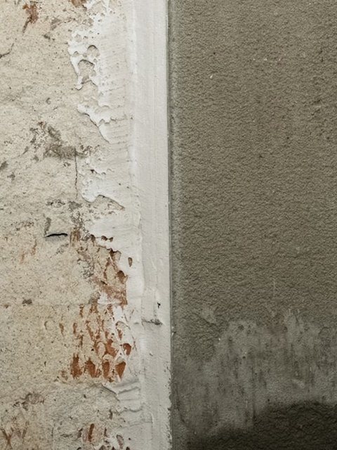 before and after stucco repair